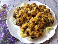 Kotleciki z kurczaka, pieczarek i sera - Blog z apetytem