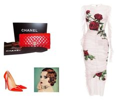 """""""Mel mix"""" by melissa-stockstill on Polyvore featuring Dolce&Gabbana, Chanel and Christian Louboutin"""