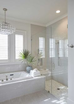 Different factors must be taken into account when doing a master bathroom remodel than when remodeling any other bathroom. There are two main reasons for this. First, a master bathroom is usually designed so that two people can use it… Continue Reading → Spa Like Bathroom, Bathroom Layout, Dream Bathrooms, Beautiful Bathrooms, Modern Bathroom, Bathroom Ideas, Bathroom Trends, Colorful Bathroom, White Bathrooms