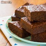 By Kristin Massey These sugar-free/gluten-free brownies contain all the healthy benefits of dark chocolate and the lift of espresso. Try individually wrapping and freezing these bites to keep them fresh; then microwave for about 30 seconds as needed. SUGAR...