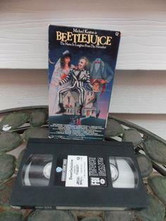 Vintage 1988 Michael Keaton is Beetlejuice by PfantasticPfindsToo, $5.99