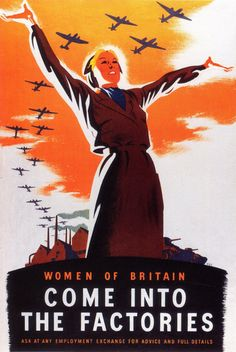 British WWII poster, Philip Zec, 1941 #poster #war #England