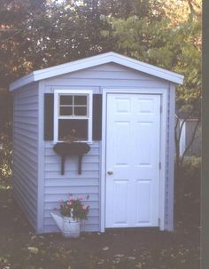 My little garden shed (matches my house!)