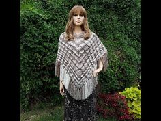 """REVISED VERSION Learn How To Crochet """"The Cable'lishous Poncho""""  TUTORIAL #405 - YouTube"""