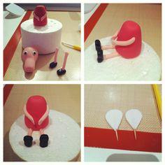 Pepa Pig cake, step by step