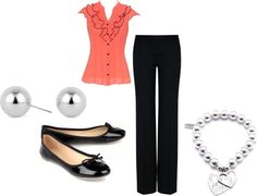 """""""Summer Work Outfit"""" by sherri-3 on Polyvore"""