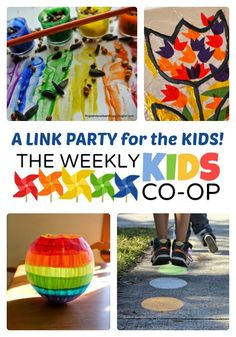 Creative Ideas for Kids at The Weekly Kids Co-Op Link Party! - #kids #parenting #kbn #binspiredmama
