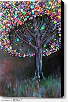 The button tree, beautiful and simple all at the same time