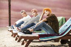 Daehyun, Jongup, and Youngjae