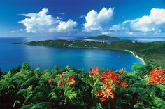 Contact #BlueOceanBooking to visit these stunning Virgin Islands locations on your next vacation!  Magen's Bay, St Thomas, US Virgin Islands