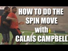 wide receiver swim move - Bing video