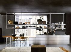 Convivium ambiente 1 by Arclinea | Island kitchens