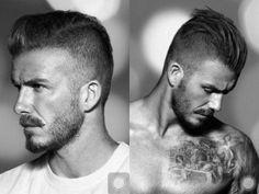 David Beckham Frisuren Laufe Der Jahre Mittellanges Haar Halboffen