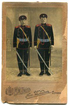 Артиллеристы 3-го мортирного дивизиона, г. Серпухов