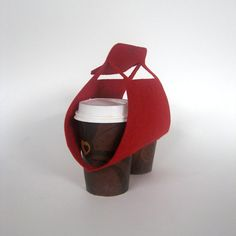Objectify Tota Coffee Cup Carrier by ObjectifyHomeware on Etsy, $8.00