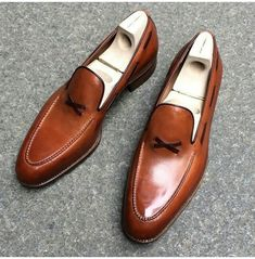 Brown Leather Shoes, Brown Shoe, Soft Leather, Formal Leather Shoes, Yellow Leather, Cowhide Leather, Suede Leather, Loafer Shoes, Loafers Men