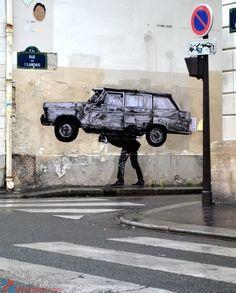 Nghệ thuật đường phố bởi Charles Leval