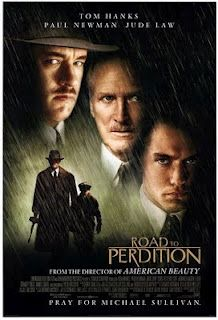 'The Road to Perdition', 2002 - Directed by Sam Mendes ( American Beauty) and starring Tom Hanks, Jude Law & Paul Newman. An American Film classic. Film Movie, See Movie, All Movies, Great Movies, Movies To Watch, Jude Law, Tom Hanks Filme, Movies Showing, Movies And Tv Shows