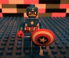 Custom Printed Captain America Minifigure Lego Compatible US Seller CPT02 | eBay