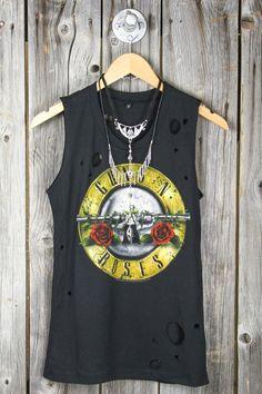 Guns N Roses Destroyed Tank