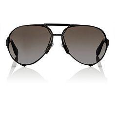 Givenchy Women's Aviator Sunglasses ($545) ❤ liked on Polyvore featuring accessories, eyewear, sunglasses, multi, clear aviator glasses, aviator style sunglasses, clear lens sunglasses, logo sunglasses and wrap around aviator sunglasses