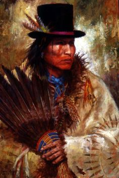 His New Hat | Crow painting | James Ayers Studios