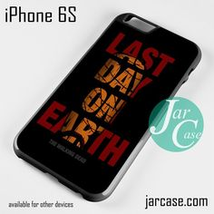 The walking dead Negan Last Day On Earth Phone case for iPhone 6/6S/6 Plus/6S plus