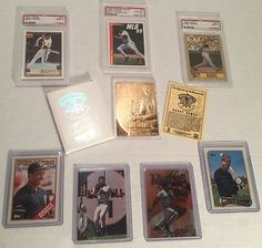 BARRY BONDS Lot, TOPPS, UD,Donruss MLB 99, PSA GRADED Cards,23K Gold, #570,320,3