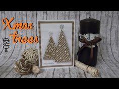 Tutorial de una tarjeta de navidad, con perlas, cartón ondulado y relieve. Canal de Scraparizate: https://www.youtube.com/channel/UCiTNRvDobEsY2i0NKoVbi9Q
