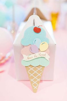 44 Ideas Cake Ice Cream Theme Party Planning For 2019 1st Birthday Girls, First Birthday Parties, Birthday Party Themes, First Birthdays, Birthday Celebration, Birthday Ideas, Ice Cream Theme, Ice Cream Party, Ice Cream Birthday Cake