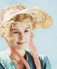 Rosamund Pike, Jane Bennet - Pride & Prejudice (2005) #janeausten #joewright #fanart