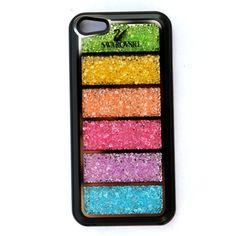 Swarovski Crystal Rainbow iPhone 5 Case Black Louis Vuitton Wallet c762e84f07