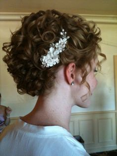 hair updos for long curly hair wedding updos for naturally curly vbwyded - Hair Styles Medium Hair Styles, Curly Hair Styles, Natural Hair Styles, Natural Curls, Hair Medium, Naturally Curly Updo, Wedding Hair And Makeup, Hair Wedding, Curly Hair Updo Wedding