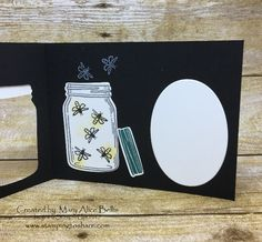 Stampin\' Up! Jar of Love Bundle Created by Mary Alice Bellis, May 2017 Stamping to Share Demo Meeting Swap, #stampingtoshare