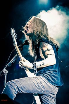 Alexi Laiho in Moscow 2017 photo by Anna Novak