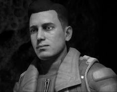 "amarmeme:  ""Why is Reyes Vidal so dashing in black and white? This asshole is saying ""death by a thousand cuts"" and all I can think is, well killllll me then.  """