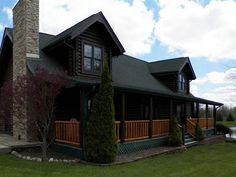 1641 S 1225 W, Parker City $349,900 Authentic Log Cabin