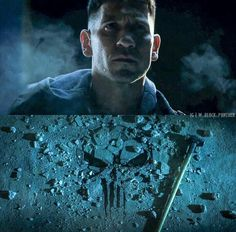 The punisher is here to collect.
