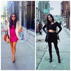 Spring Vs. Winter  #fashion #stevemadden #DKNY #zara #thelittledesigner #montreal #streetstyle #fashionable #blogger #outfit