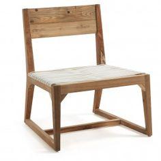 Laurent - Fauteuil - Teak hout - Rotan - Laforma-Kave Ga terug in de tijd met deze rotan retro design fautueil! Mooie combinatie van teak hout met rotan. Geschikt in iedere woonruimte!