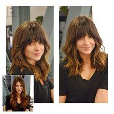 Modne fryzury z grzywką 2016 - galeria najlepszych inspiracji - Strona 6                                                                                                                                                                                 More