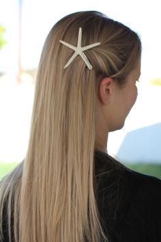 Skinny Starfish Hair Clip
