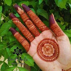 Captivating hartalika teej mehndi designs can make you look standout from the rest! Check out especially curated teej mehandi designs that you& love! Henna Hand Designs, Dulhan Mehndi Designs, Mehandi Designs, Round Mehndi Design, Mehndi Designs Finger, Full Hand Mehndi Designs, Mehndi Designs 2018, Mehndi Designs For Beginners, Mehndi Designs For Girls
