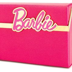 Charlotte Olympia Barbie Vanina clutch (€910) ❤ liked on Polyvore featuring bags, handbags, clutches, long purse, pink clutches, charlotte olympia, charlotte olympia clutches and pink handbags
