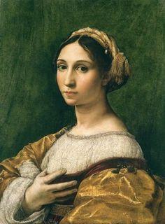 Portrait de jeune femme (Raphaël)