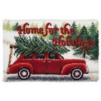 Craftways® Home for the Holidays Latch Hook Kit
