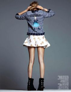 Poppy by Hong Jang Hyun (Harper's Bazaar Korea)