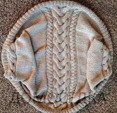 Красивый вязаный шраг от Melissa Schaschwary (Вязание спицами) — Журнал Вдохновение Рукодельницы
