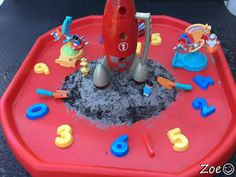 Space Themed Tuff Tray Resources and Ideas - - Primary Treasure Chest provides of EYFS teaching resources for all areas of the curriculum. High quality early years resources / preschool printables for teachers. Moon Activities, Eyfs Activities, Nursery Activities, Space Activities, Toddler Activities, Learning Activities, Teaching Resources, Play Based Learning, Kids Learning