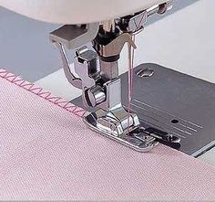 Sewing Machines For Beginners Overlock Overedge Overcasting Foot for Brother Singer Janome Juki Sewing Machine Things you should - Sewing Projects For Beginners, Sewing Tutorials, Sewing Hacks, Sewing Crafts, Sewing Patterns, Sewing Tips, Tutorial Sewing, Sewing Essentials, Sewing Stitches